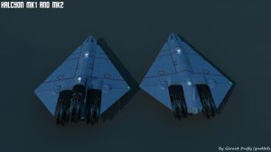 Halcyon MK1 and MK2 by gmd3d