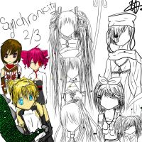 Synchronicity drawing got messed by ganzato1000