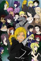 FMA Cast +coloured+ by elindor