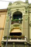 Floral facade - Zagreb by wildplaces