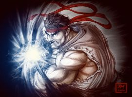 STREET FIGHTER V: RYU by renomsad