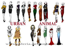Urban animal by Coleria