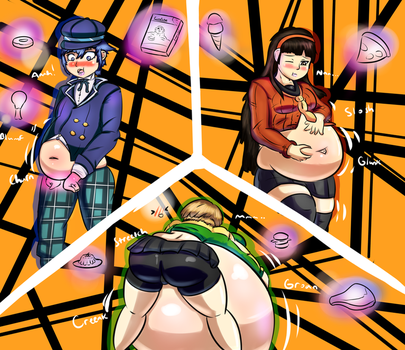 [CM] Persona 4: Stuffing yourself all night. by Motol