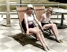 Bathing Beauties Dorothy Sebastian and Anita Page by BooBooGBs
