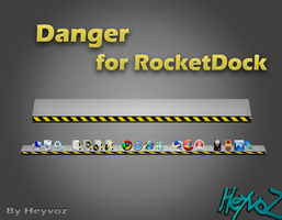 Danger for RocketDock by Heyvoz