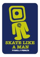 SKATE LIKE A MAN by sergiotoribio