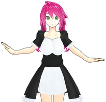 MMD NewComer Zodaii The Elf by AstridAutumn