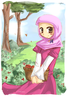 Yusra outside by sakura02