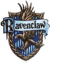 Ravenclaw House Crest Cross Stitch Pattern by Trustinlies