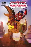 Transformers Angry Birds Cover (with logo) by LivioRamondelli