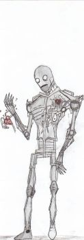 robots dont need a heart by Artist-of-Madness