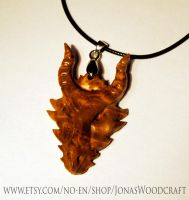 Dragon pendant by JOVictory