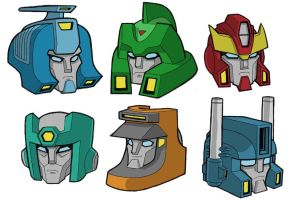 80s Movie Transformers by JoelRCarroll