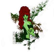 Poison Ivy by SarahL-Art
