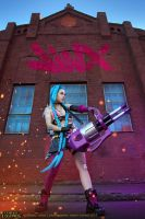 League of Legends. Jinx. 3 by aKami777