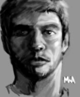 Self Portrait speed painting by TheChaoticKnight