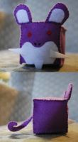 Cube: Rattata by HelloBatty