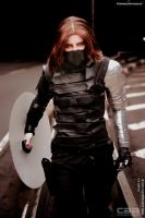 COSPLAY - Winter Soldier CAACOSPLAY XV by MarineOrthodox