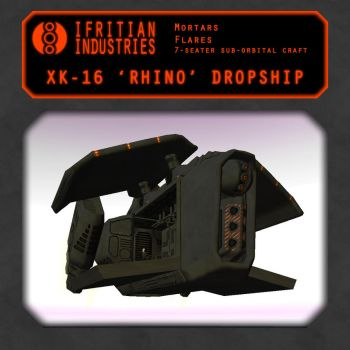 XK-16 Dropship by IfritianIndustries