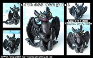 Toothless Sculpture by 96037