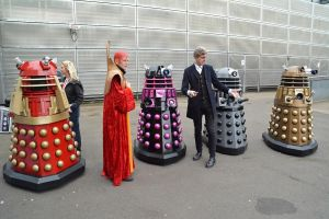Timelords and Daleks at the NSC 2015 by masimage