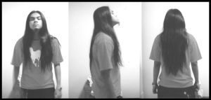 Old Pictures With My Long Hair by fleng