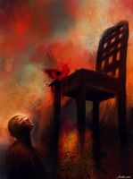 The painful chair by Delawer-Omar