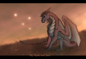 red dragon by WiiolisRus