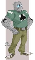 atomic robo by samuraiblack