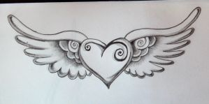 heart tattoo by zioman
