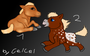 Pony Adopts (open) by CelCel98