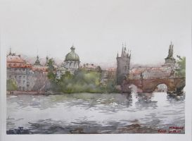 Prague Panorama 2 by esper-nza
