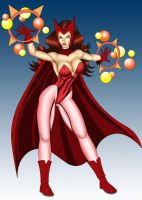 Scarlet Witch by thequestionmark