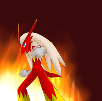 From the flames by Scarlettthedarkwolf