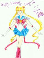 Happy B-day, Usagi! And Thanks for 8,000 views! by penguintejas
