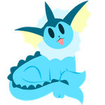 Eeveeloution Vector: Vaporeon by Skele64