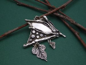Tree House Spirit by *BOXCJewelry on deviantART :  sterling silver lotea boxc boxcjewelry