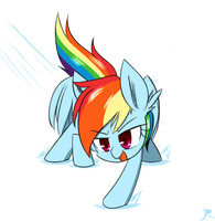 Rainbow Dash by ranban