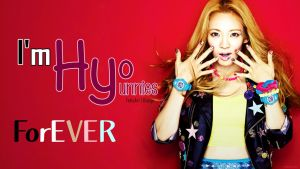 Wallpaper Hyoyeon SNSD by Costaria23