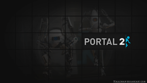Portal 2 - Wallpaper by VaultMan