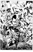 JUSTICE LEAGUE COVER SAMPLE OVER IVAN REIS by lebeau37