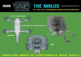 Doctor Who - The Malus by mikedaws