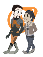 Half Life Appreciation by RinLockhart