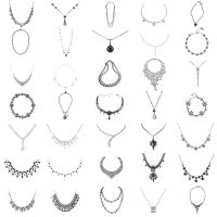 35 Necklaces PS Brushes by Anavrin2010