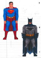 Supes And Bats by Jochimus