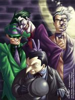 Batman Rogues Gallery by eisu