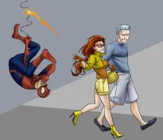 Spiderman and Friends by iesnoth