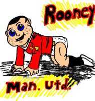 Baby Face Rooney by darkparade
