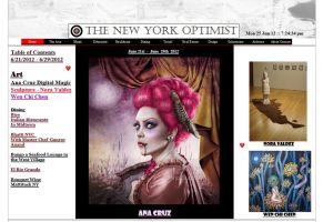 The New York Optimist  Article and Feature by LuneBleu