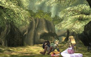 zelink picnic by Link-of-the-twilight